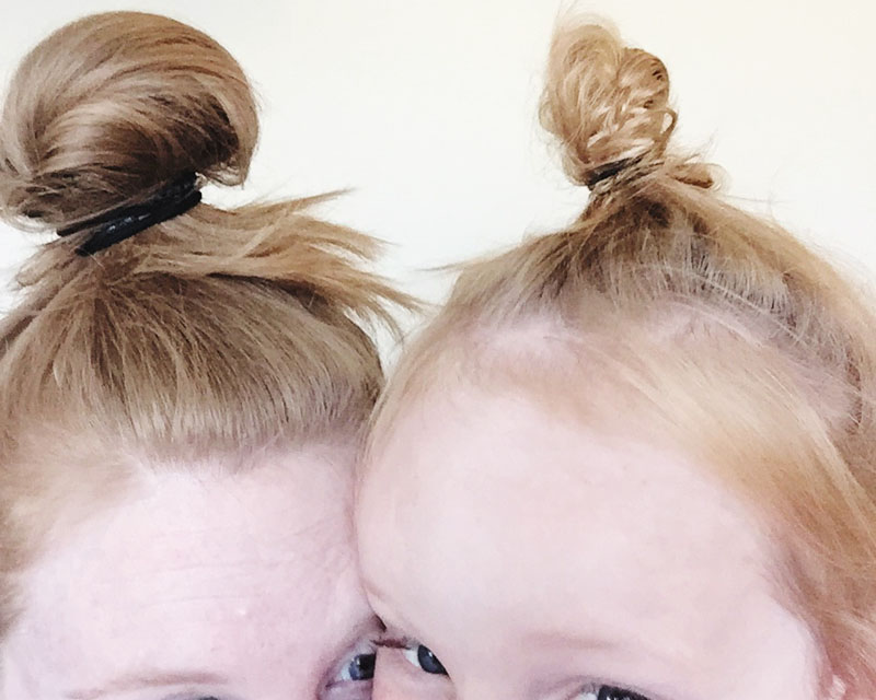 Top Knot_Just Us Two